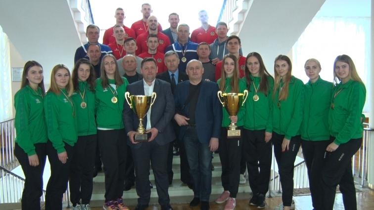 Спортсмени волейбольних клубів «Житичі» та «Полісся» зустрічалися з очільниками області
