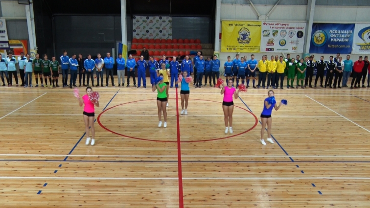 Вперше Відкритий Чемпіонат з футзалу Житомира гратимуть в чотири ліги