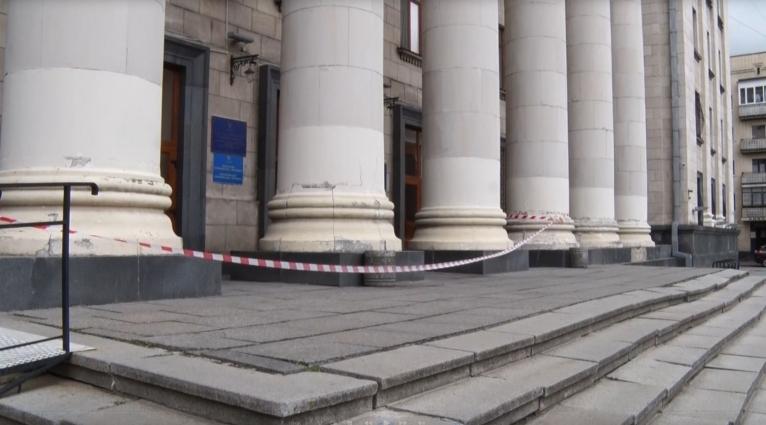 У Житомирі замінували суд?