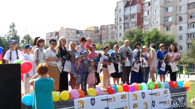 Затишний мікрорайон Маликова вкотре зібрав сусідів та друзів