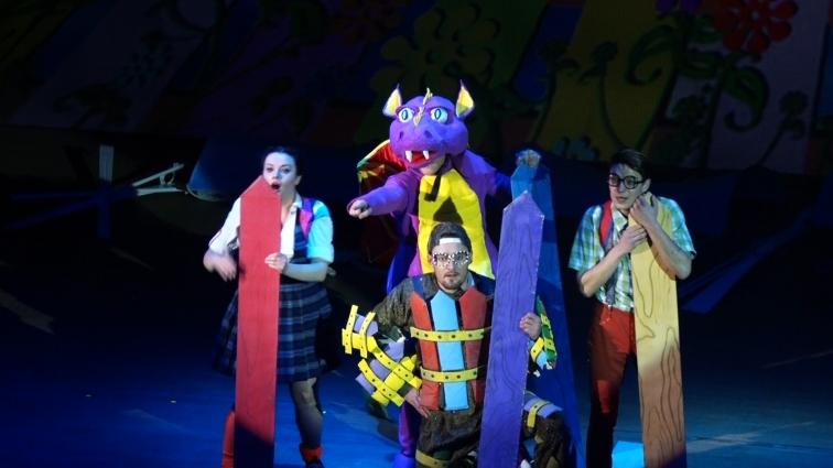 У житомирському драмтеатрі відбулось свято для дітей