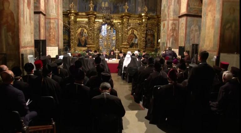 На Архієрейському Соборі обрали нового главу –  Митрополита Київського та всієї України Епіфанія