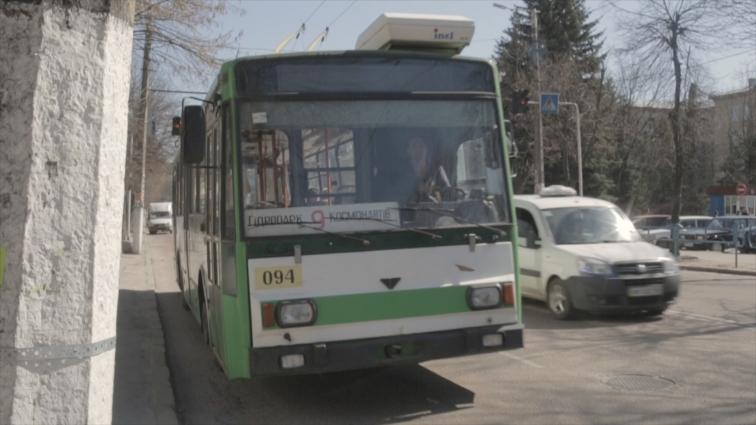 Тролейбус №9 в Житомирі курсує без кондуктора