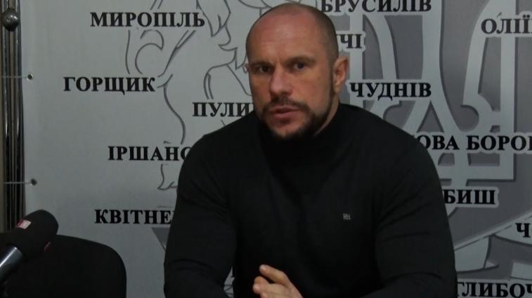 Ілля Кива на Житомирщині зустрівся з однодумцями
