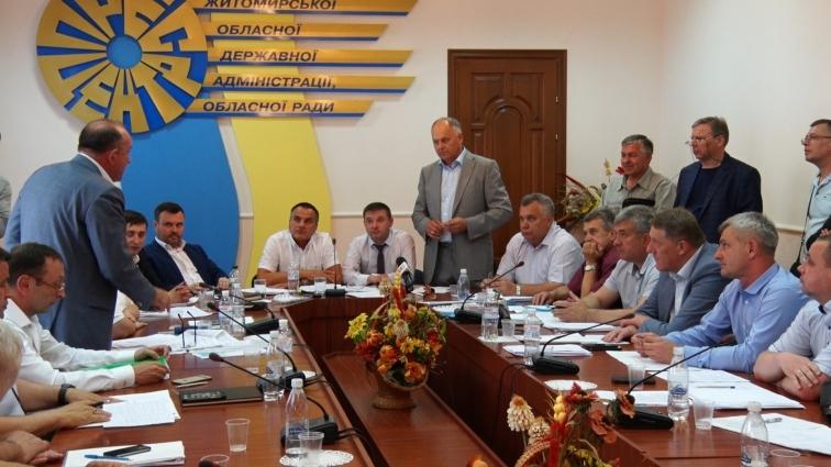 Про забруднення каналізаційними стоками річки Гнилоп'яті  говорили на комісії з екології Житомирської облради