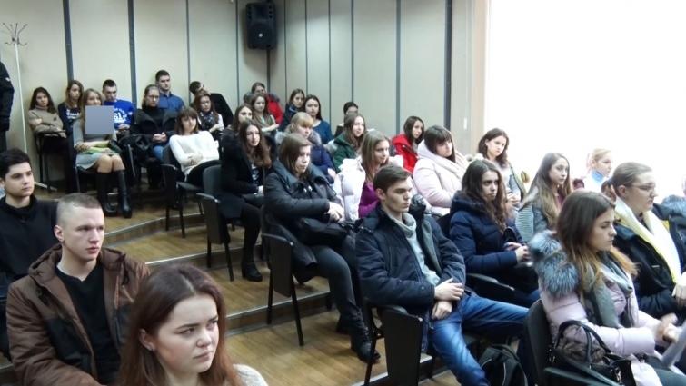 Голова Соціалістичної партії Ілля Кива зустрівся зі студентами Житомирського державного технологічного університету