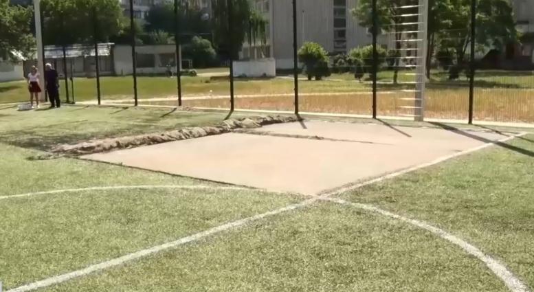 Судове засідання у справі викрадення покриття з футбольного поля в житомирській школі перенесли