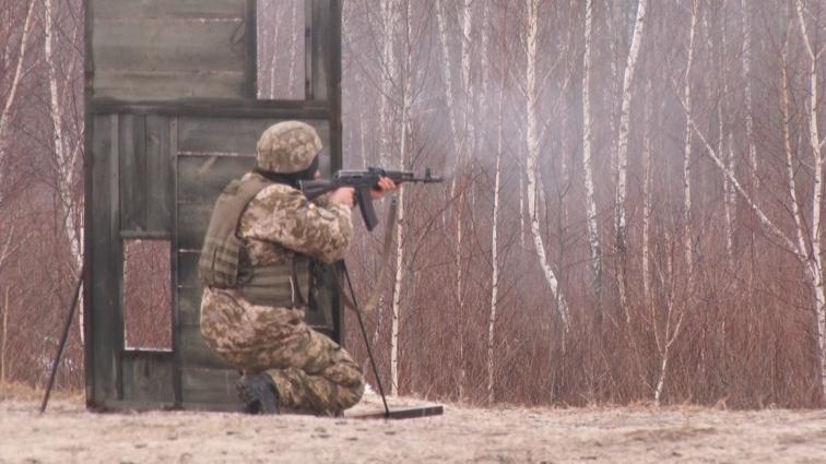 Курсанти-десантники три тижні тренуватимуться на полігоні
