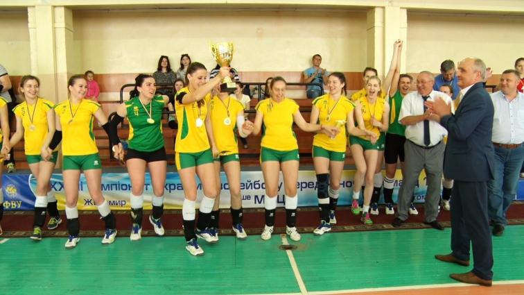 ВК «Полісся» – чемпіон України серед жіночих команд Першої ліги