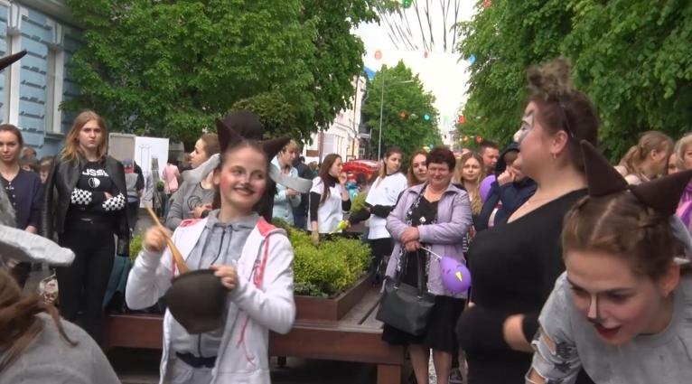 На вулиці Михайлівській відбувся ярмарок «ЛІТО-2019»