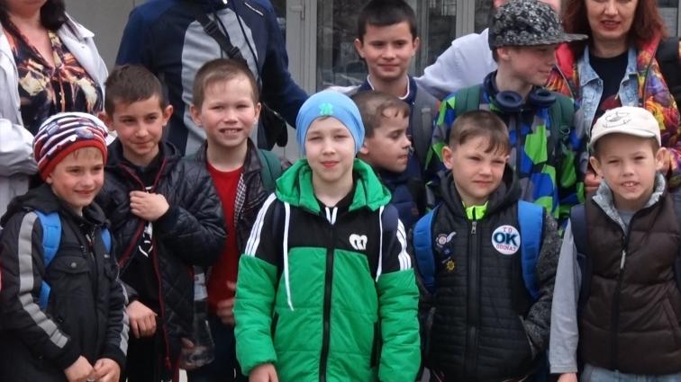 До Житомира прибули юні боксери з Донеччини