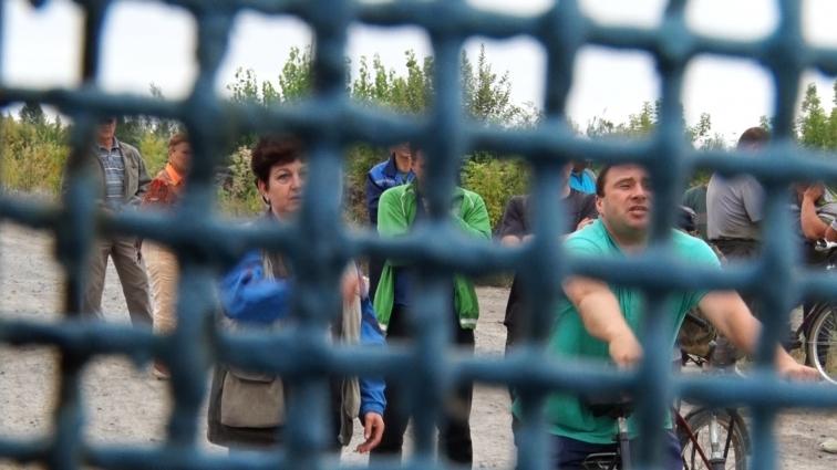 Робітники ДП «Головинський кар'єр» вийшли боронити робочі місця