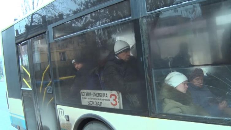 Пасажир побив кондуктора тролейбусу