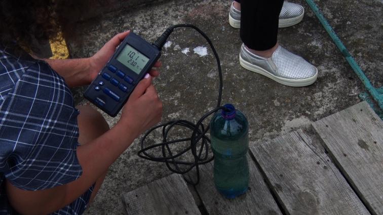 Повторні аналізи води у річці Тетерів