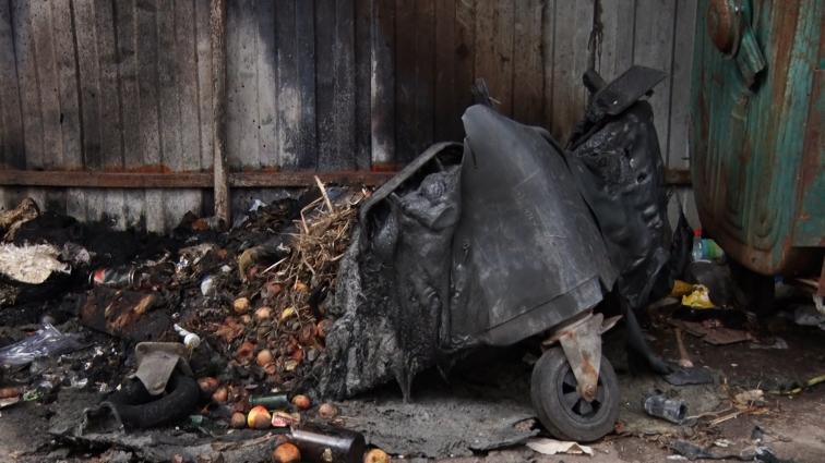 У Житомирі під час пожежі на смітнику загинув чоловік