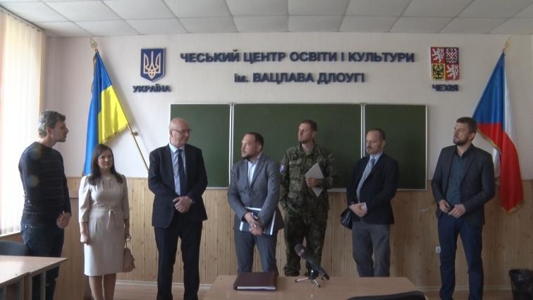 До Житомирської політехніки приїздив Надзвичайний і повноважний посол Чехії в Україні
