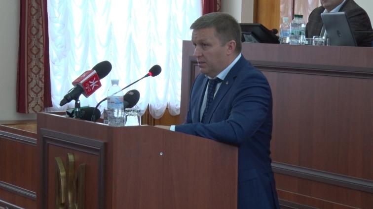 Прокурор області під час сесії обласної ради звітував про роботу