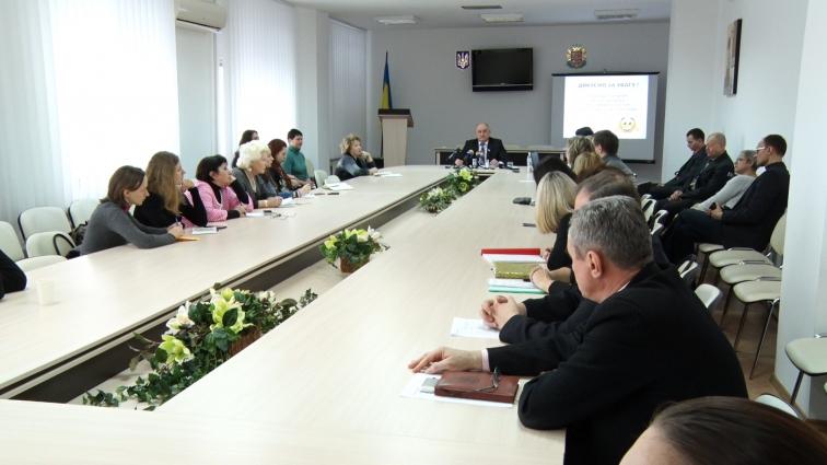 Голова Житомирської обласної ради Володимир Ширма відзвітував за перші 100 днів роботи на посаді